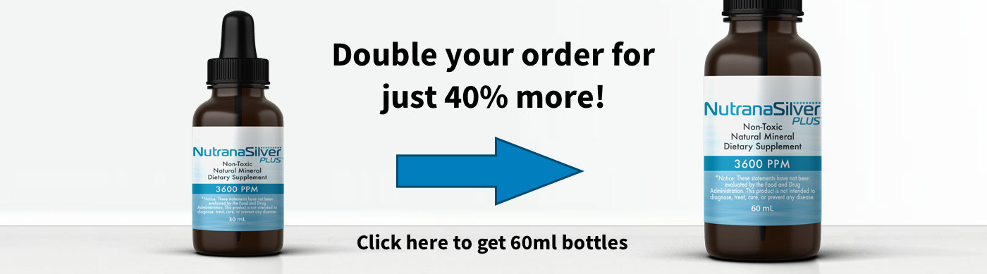 Double your order for only 40% more!